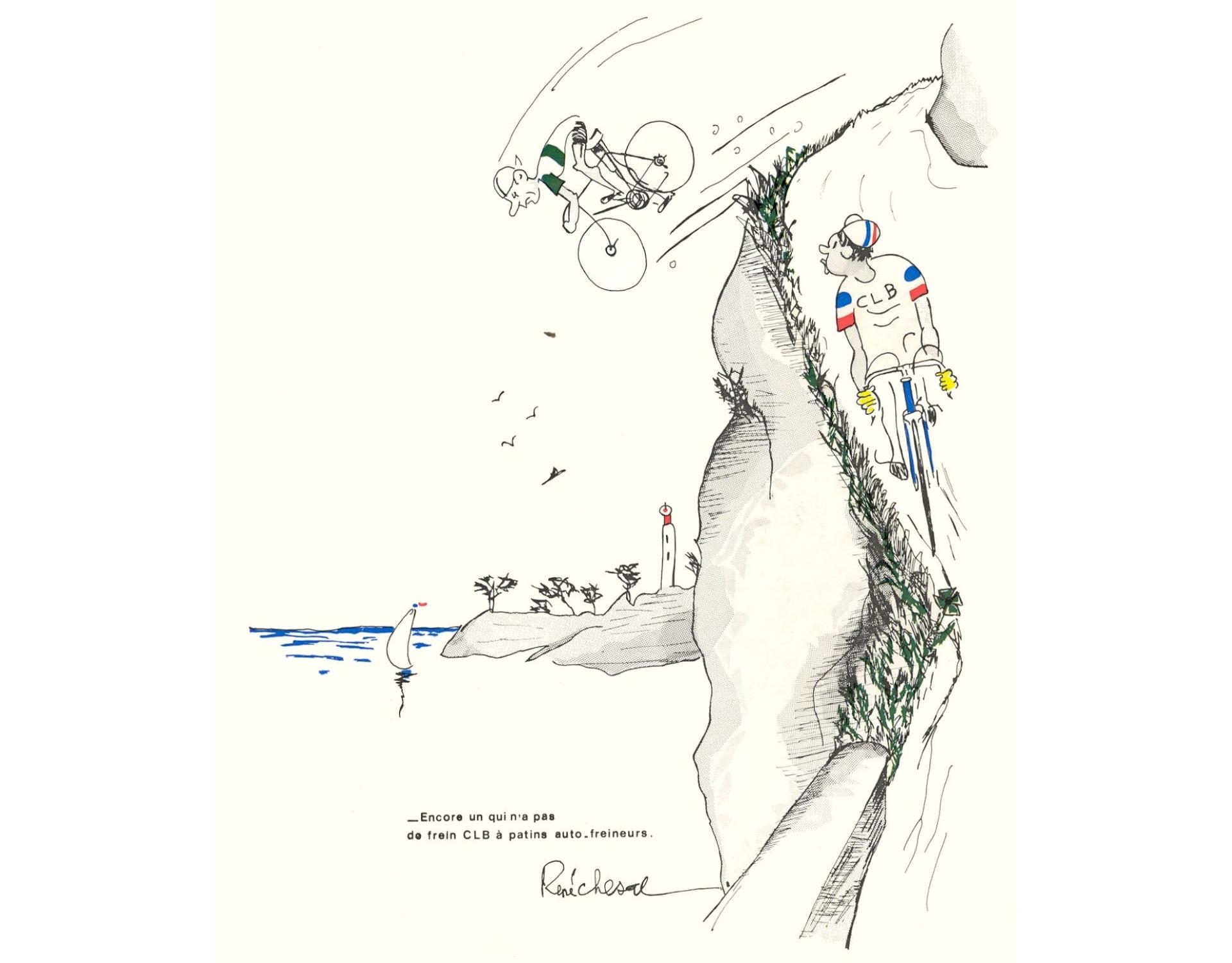 CLB dessin René Chesal