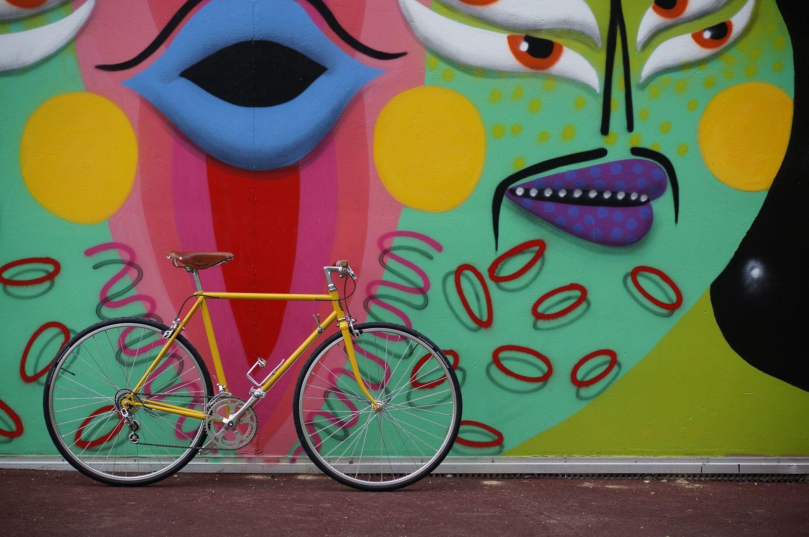 velo panache graffiti
